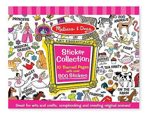 Melissa & Doug 14247 Sticker Collection - Pink Theme
