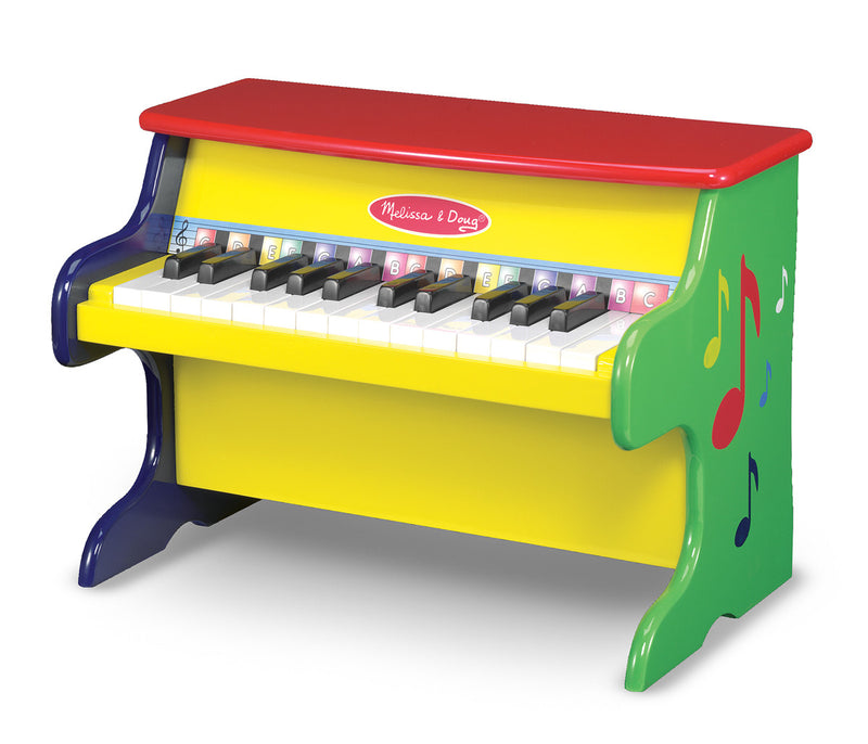 Melissa & Doug 11314 Learn-To-Play Wooden Upright Piano