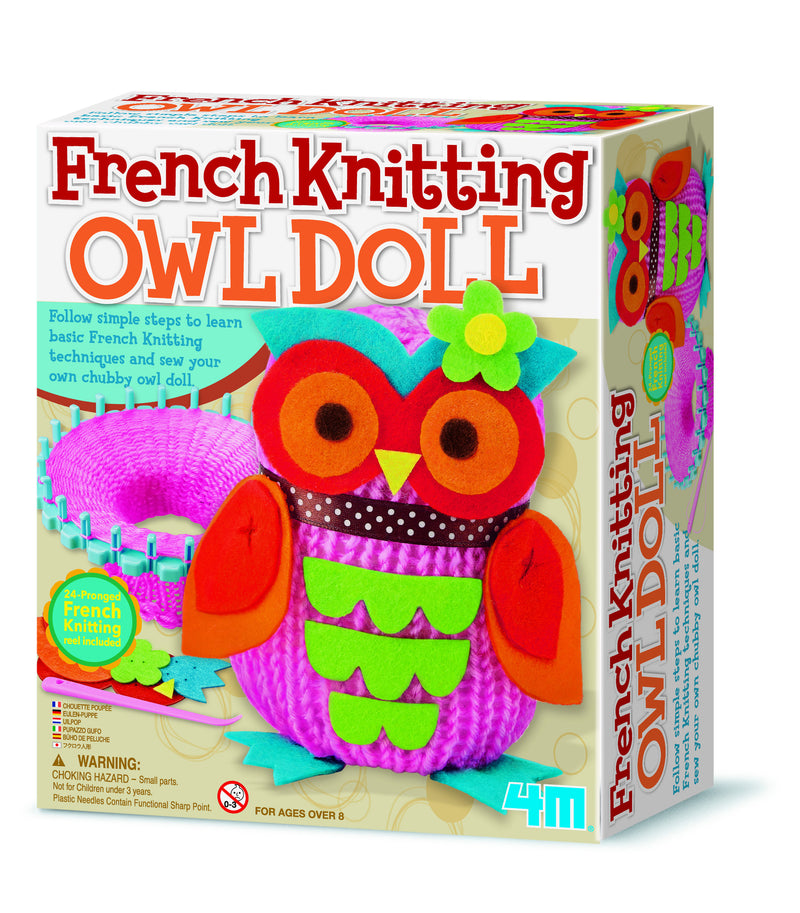 4M French Knitting Owl Kit - P2764