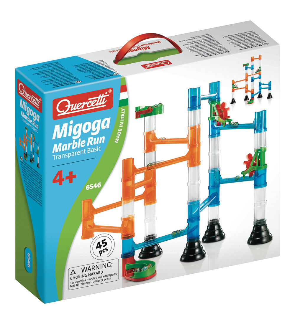 Quercetti Migoga Marble Run Transparent Basic 4+