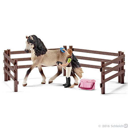Schleich Andalusian Horse Care Set 42270