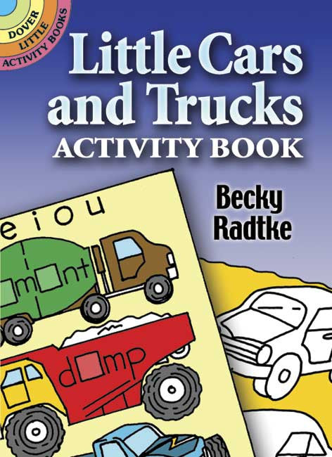 Dover Storybooks - 0486456854 | Little Cars & Trucks Activity Book