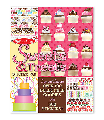 Melissa & Doug 14239 Sticker Pad - Sweets And Treats