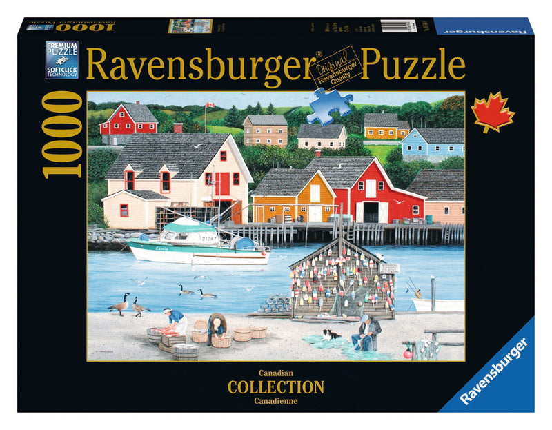 Ravensburger 1000 Pieces Puzzle Limvalencia Fish Cove - 19548