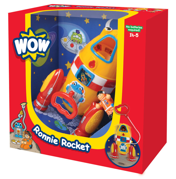WOW Toys - 10230 | Ronnie Rocket