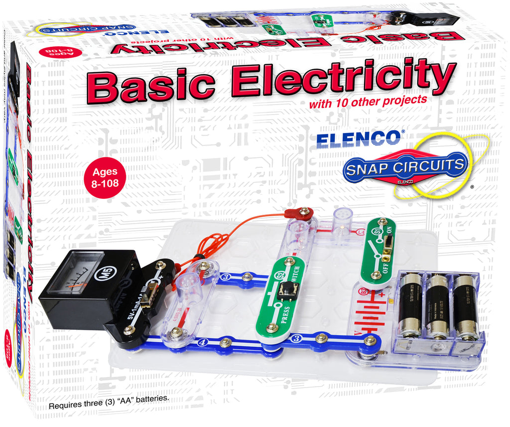 Elenco Snap Circuits Basic Electricity - SCP-10