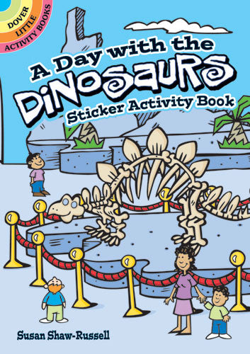 Day With Dinosaurs Sticker Book