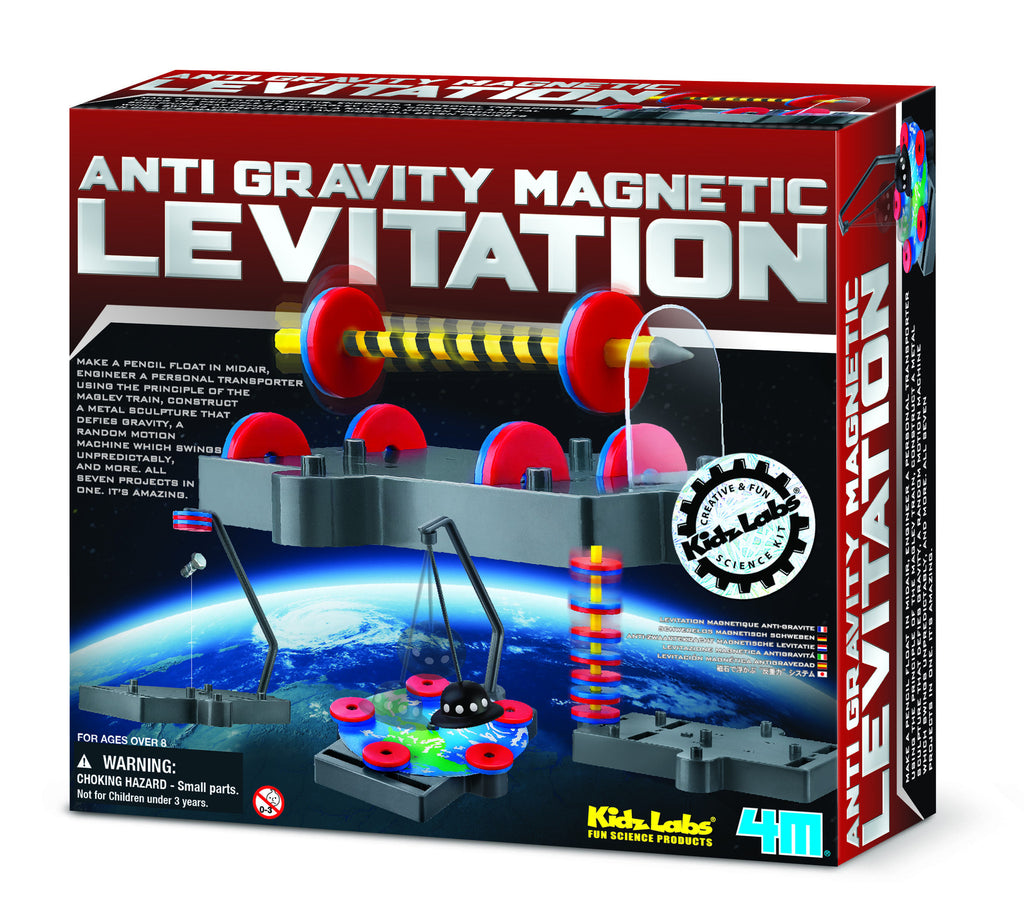 4M - P3299 | Anti-Gravity Levitation Science
