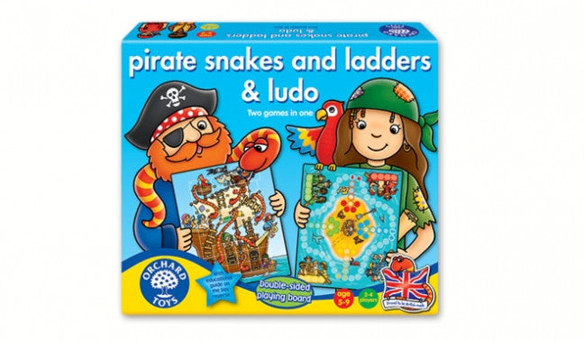 Orchard Toys - 100887 | Pirates Snakes and Ladders & Ludo