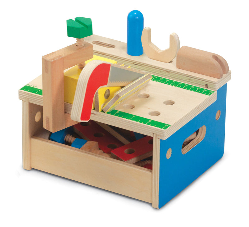Melissa & Doug - 9386 | Hammer And Saw Tool Bench