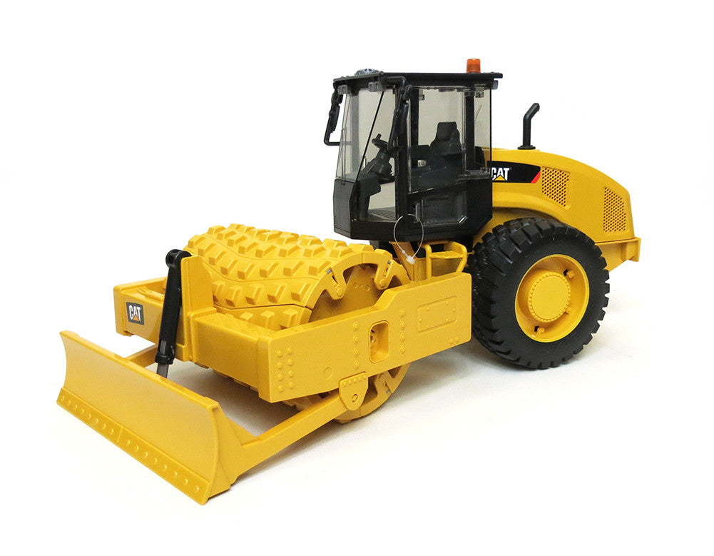bruder 02451 construction cat vibratory soil compactor with