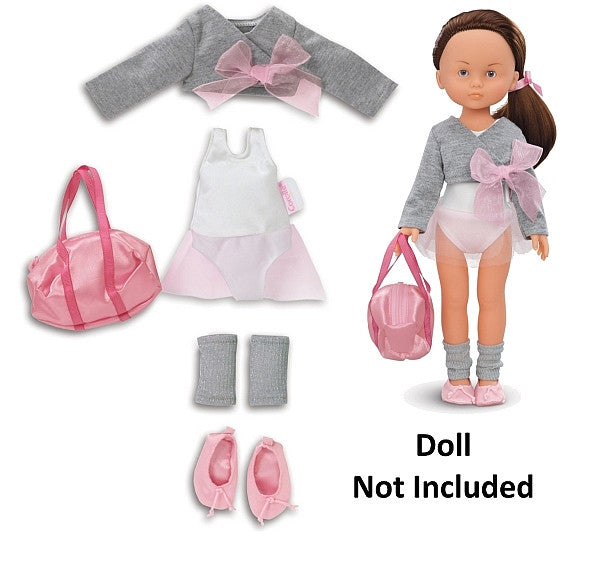 BLW55 LC 13-Inches Doll Ballerina Warm-Up Set