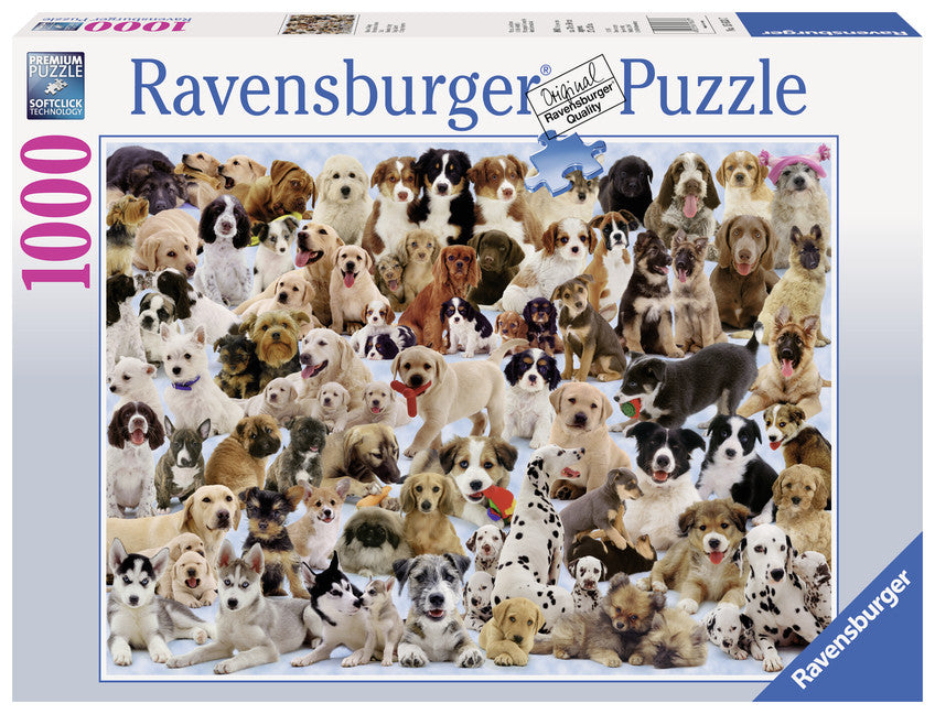 Ravensburger 1000 Pieces Puzzle Dogs Galore! - 15633
