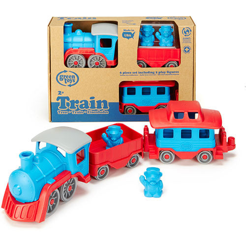 Green Toys Red & Blue Train - TRNB-1054