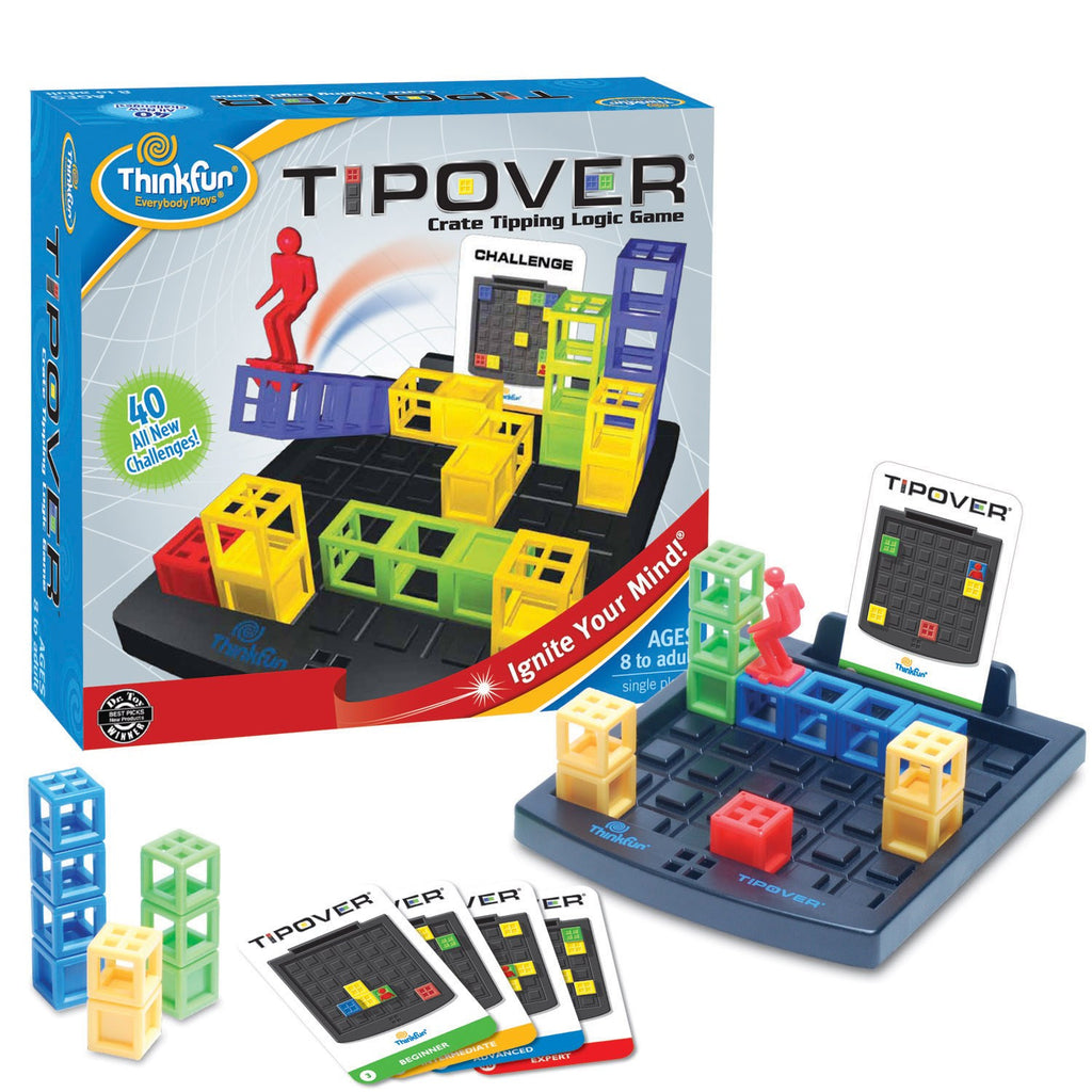 ThinkFun Tipover 3D Strategy Game