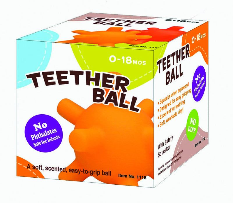 Wintech Teether Ball (Assorted Colours)