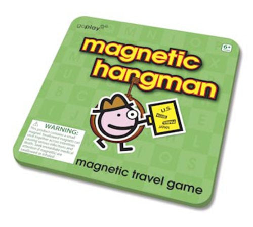 Toysmith Magnetic Hangman Travel Game Go Play