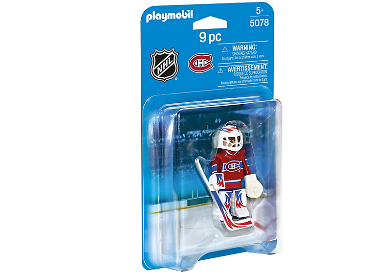 Playmobil - 5078 | NHL: Montreal Canadiens Goalie