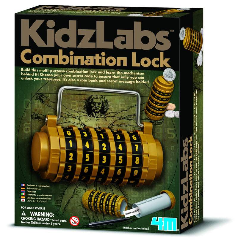 4M Combination Lock & Safe Build Kit - P3362