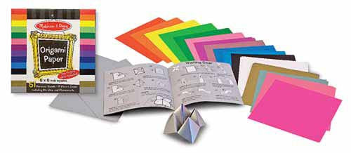 Melissa & Doug 14129 Origami Paper 51 sheets 6 x 6 inches