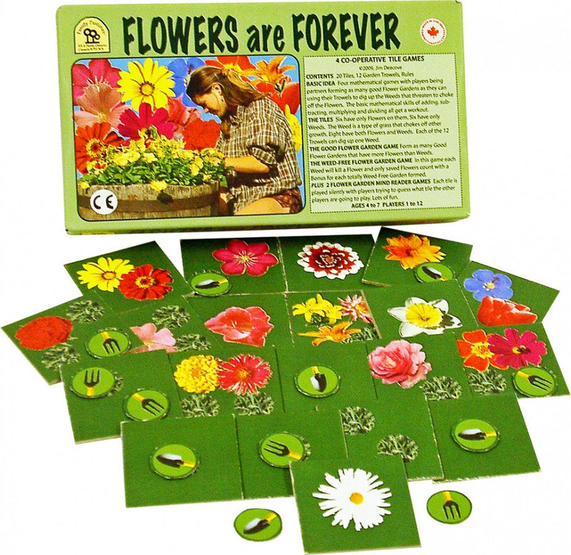 Family Pastimes Flowers Are Forever Game