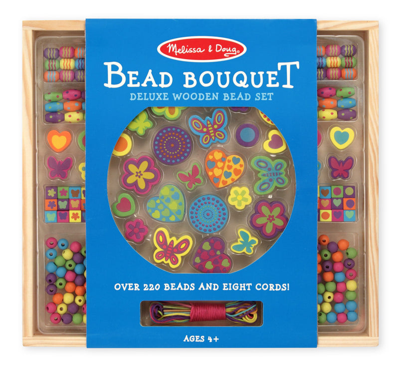Melissa & Doug 14169 Wooden Bead Bouquet Set