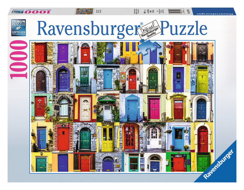 Ravensburger 1000 Pieces Puzzle Doors Of The World - 19524