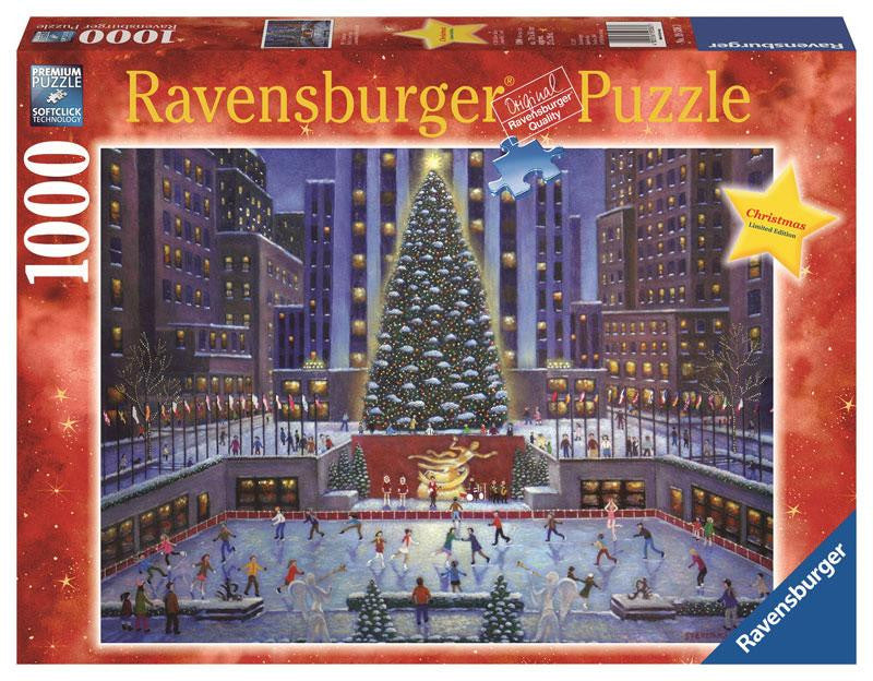 Ravensburger 1000 Pieces Puzzle NYC Christmas - 19563