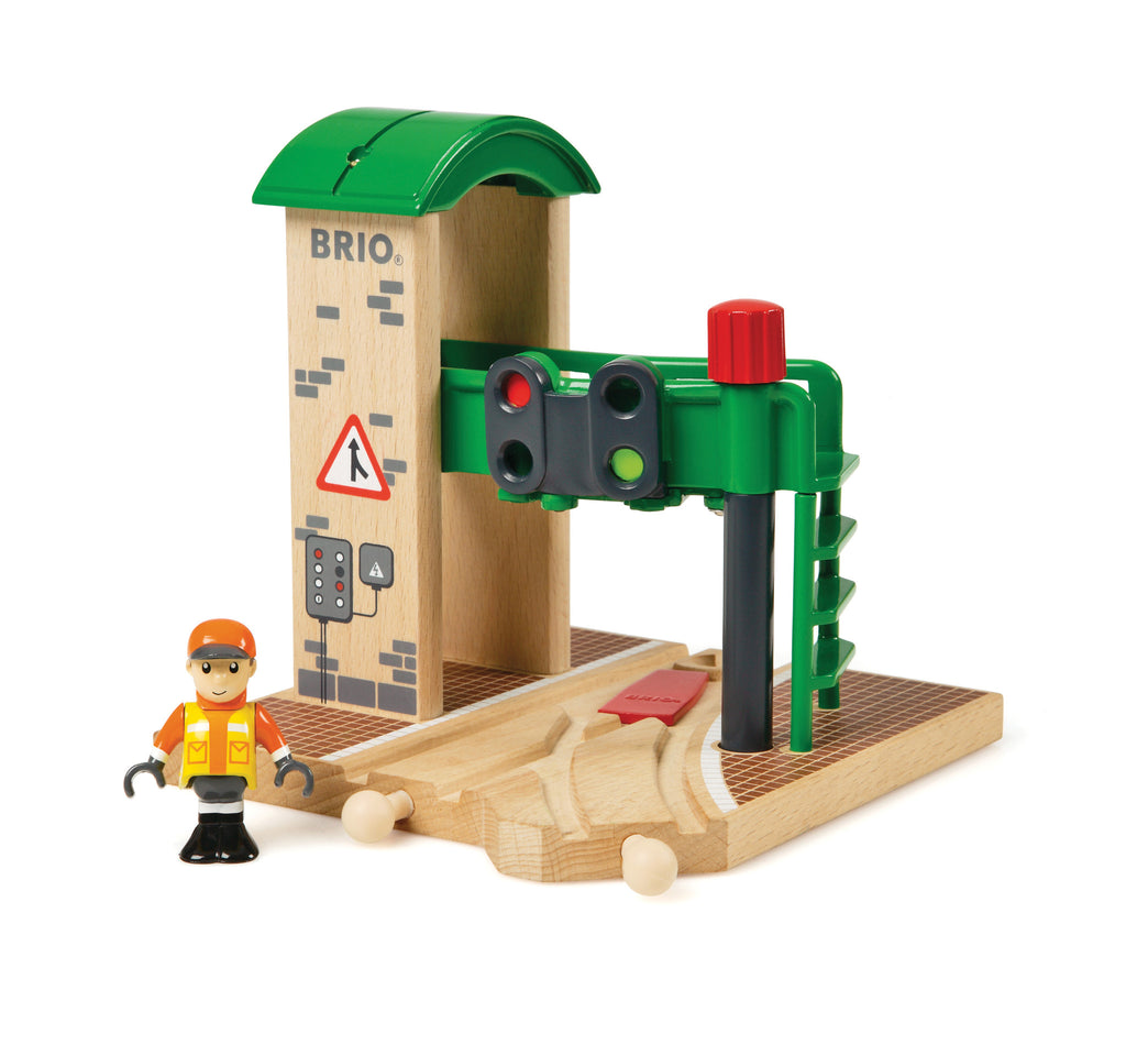 Brio Signal Station Train Set Wooden - 33674