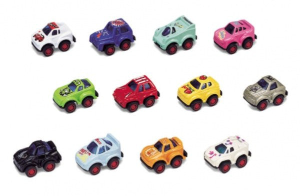 Mini Racer Pull-Back Car Asst. Colours