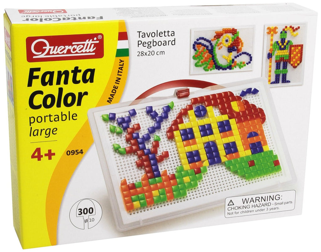 Quercetti - 0954 | Fanta Color Portable Large (300 Pieces)