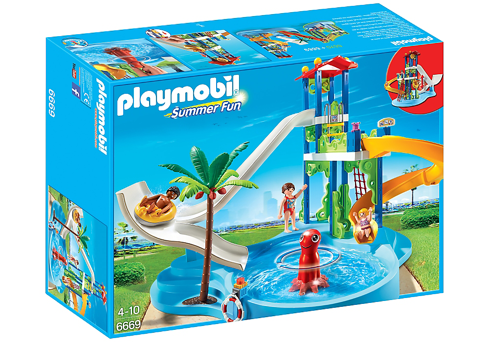 Playmobil Water Park With Slides - 6669