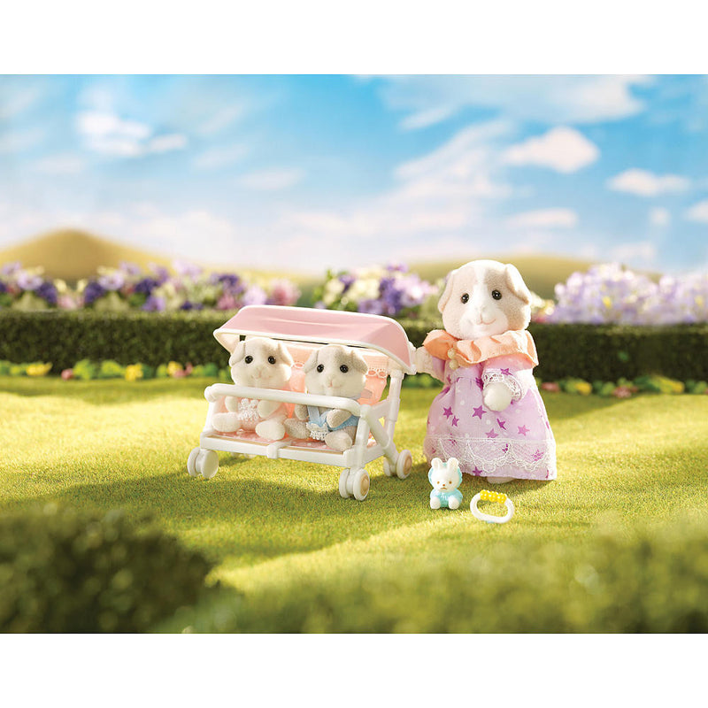 Calico Critters Double Stroller Set 1614