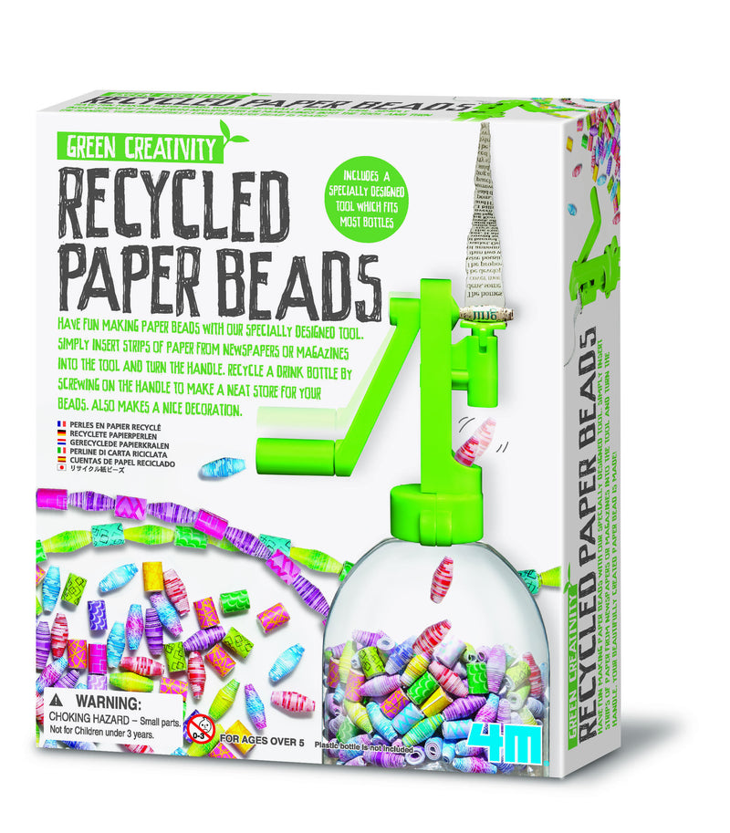 4M Recycled Paper Beads Craft Kit