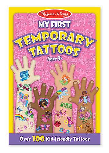 Melissa & Doug 12946 My First Temporary Tattoos - Pink