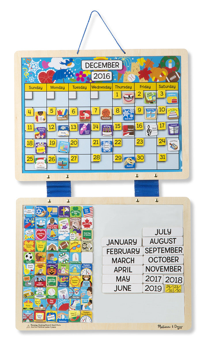 Melissa & Doug 5058 Monthly Calendar - Magnetic