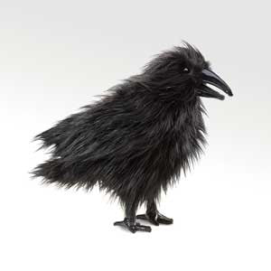 Folkmanis Puppets Raven Puppet - 2430