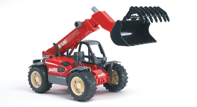 Bruder Manitou Telescopic Loader MLT 633 Turbo Red - 02125