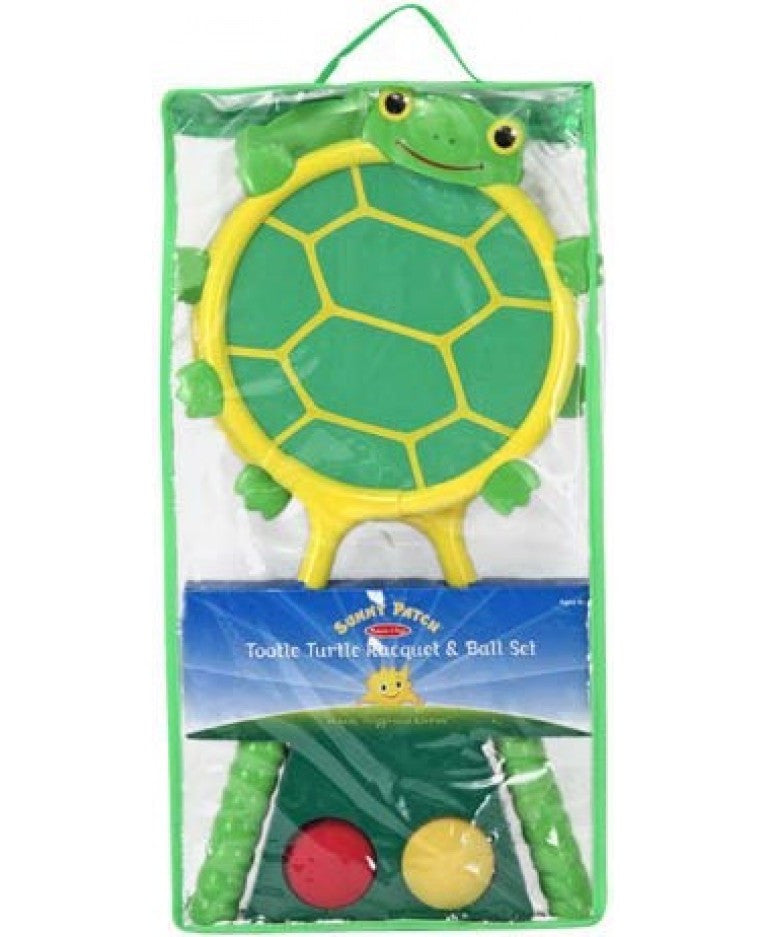 Melissa & Doug 16689 Turtle Racquet And Ball Set