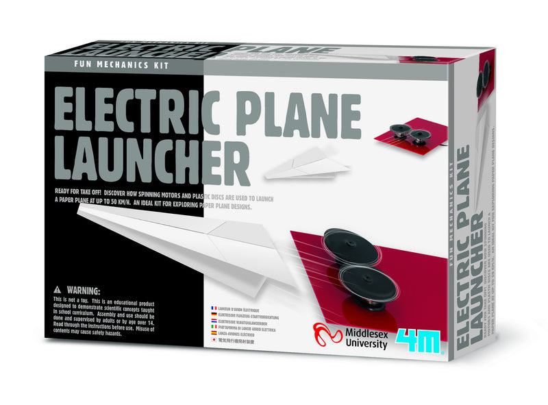 4M Electric Paper Plane Launch Kit - P3906
