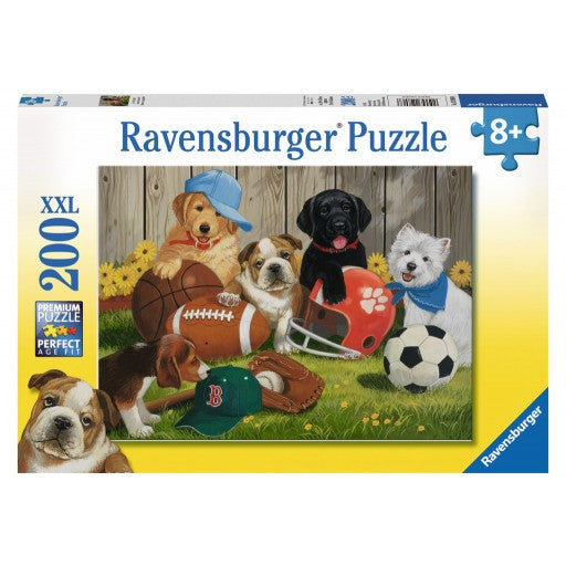 Ravensburger 200 Pieces Puzzle Let's Play Ball - 12806