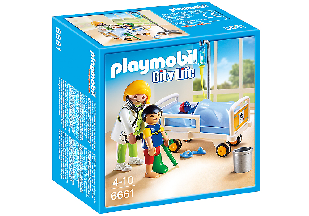 Playmobil - 6661 | City Life: Doctor With Child