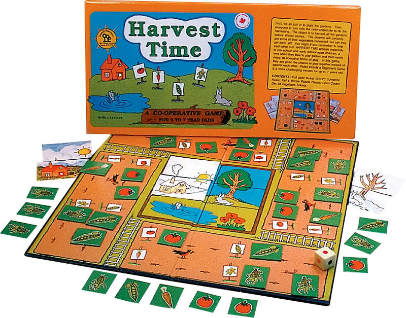 Family Pastimes Harvest Time - A Co-operative Game