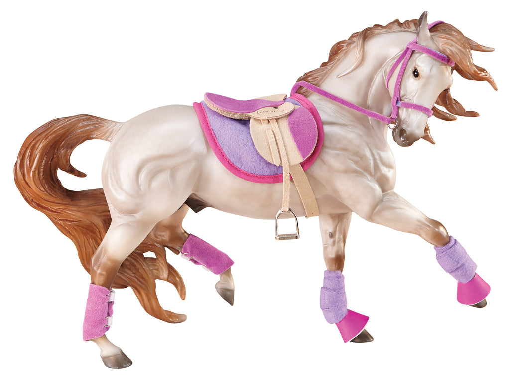 Breyer - 2050 | Traditional: English Riding Set - Hot Colors
