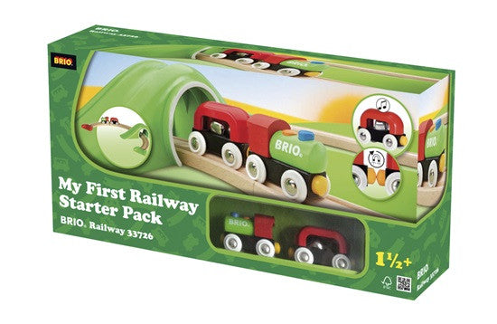 Brio My First Railway Starter Wooden - 33726