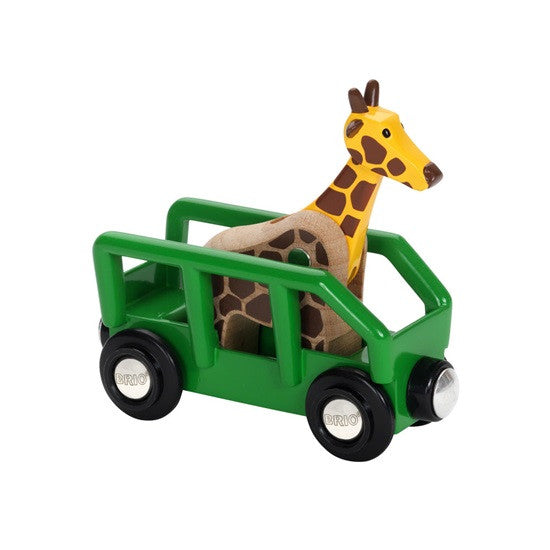 BRIO - 33724 | Safari Giraffe And Wagon Train