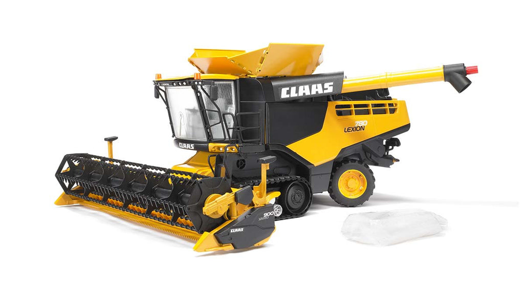 Bruder Claas Lexion 780 Combine Harvester Yellow - 02118