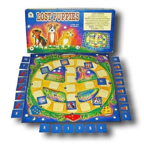 Family Pastimes Lost Puppies Game