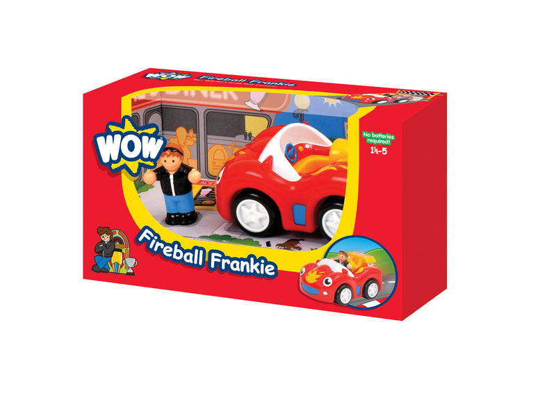 Fireball Frankie - Racing Cars (2 Piece Set)