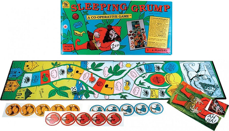 Family Pastimes Sleeping Grump Game